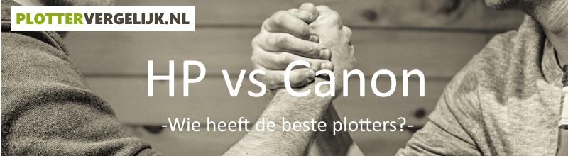 Plotters - HP versus Canon
